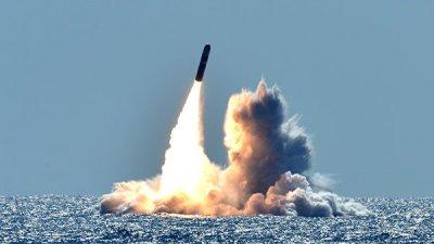 США испытали баллистическую ракету Trident II