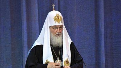 Патриарх Кирилл пожелал Зеленскому успешно объединить украинский народ