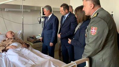 Володин навестил в больнице пострадавшего сотрудника миссии ООН в Косово