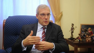 Грушко обсудил с послом Сербии обострение ситуации в Косово
