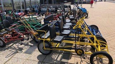 В ЕК назвали плюсы катания на велосипедах