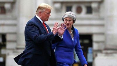 Трамп заявил, что не видел протестов в Лондоне
