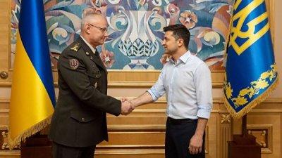 Глава Генштаба ВСУ примет участие во встрече по Донбассу в Минске
