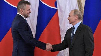 Премьер Словакии пригласил Путина на 75-летие Национального восстания