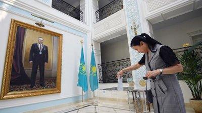 Президентские выборы завершились на основной части Казахстана