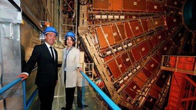 Медведев предложил ученым из ЦЕРН поучаствовать в российских проектах