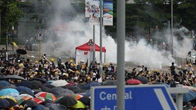 МИД призвал россиян не посещать в Гонконге места проведения акций протеста