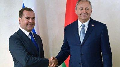 Медведев отметил сближение позиций России и Белоруссии по интеграции