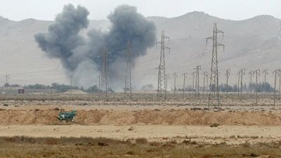 Сирийский город эль-Кахтания остался без электричества из-за пожаров