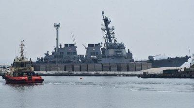 Российский корабль проследит за американским эсминцем в Черном море
