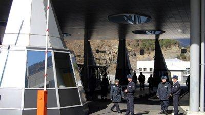 В МВД Грузии заявили об отсутствии очередей на границе с Россией