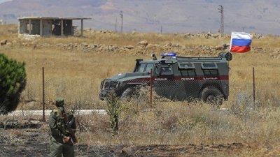 Боевики подорвали бомбу на пути патруля российской военной полиции в Сирии