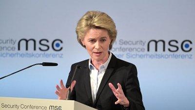 Урсула фон дер Ляйен покидает пост министра обороны Германии