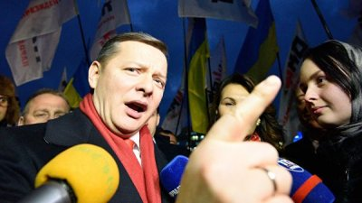 Ляшко и Кличко объединились против