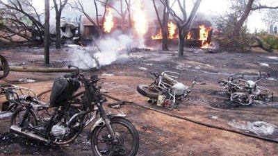 Число погибших при аварии с бензовозом в Танзании возросло до 68
