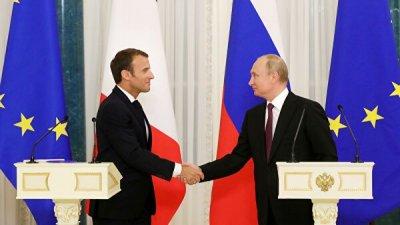Макрон рассчитывает продолжить встречи и переговоры с Путиным