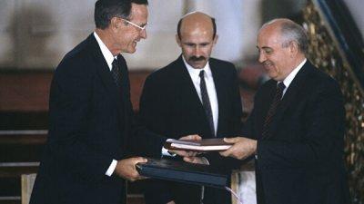Горбачев заявил о необходимости диалога между Россией и США