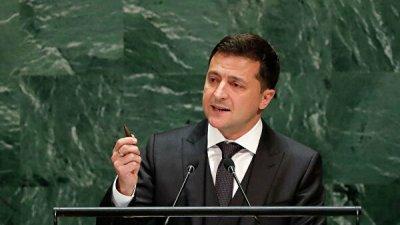 В Совфеде прокомментировали обвинения Зеленского в адрес России на ГА ООН
