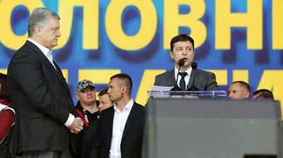 Зеленский заявил, что Порошенко неоднократно хотел с ним встретиться