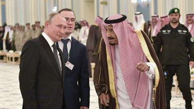 Король Саудовской Аравии оценил активную роль России в регионе и в мире