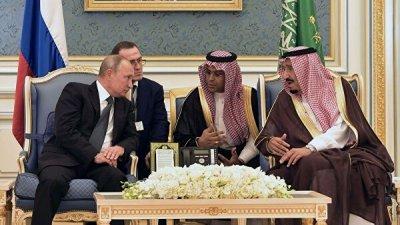 В Эр-Рияде прошли переговоры Владимира Путина и короля Саудовской Аравии