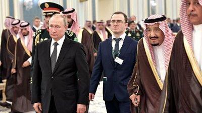 Путин отметил усилия Москвы и Эр-Рияда по стабилизации энергорынка