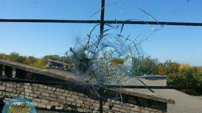 Украинские силовики обстреляли поселок Калиново, заявили в ЛНР