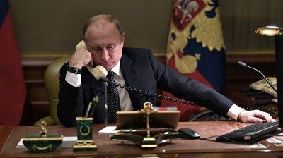 Путин и Меркель обсудили ситуацию на Украине
