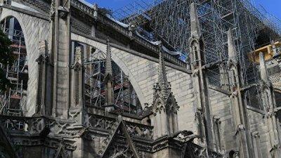 Во Франции рассказали о сотрудничестве с Россией при реставрации Нотр-Дама