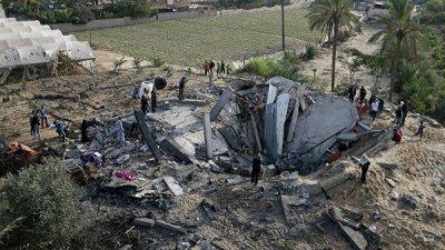 Турция осудила удары Израиля по сектору Газа