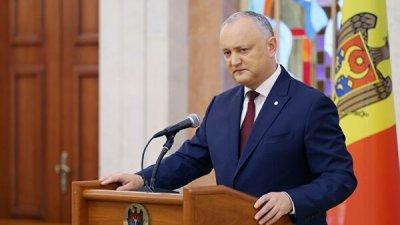 Додон выдвинул кандидатом в премьеры Молдавии экс-министра финансов Кику