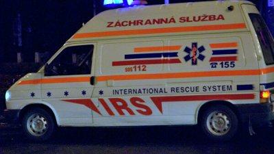 В Словакии организовали оперативный штаб на месте ДТП с автобусом