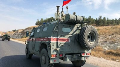 Российская военная полиция освоила новый маршрут на севере Сирии
