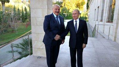 Путин и Лукашенко продолжили переговоры тет-а-тет