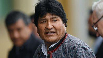 Моралес заявил, что продолжит борьбу за права угнетенных