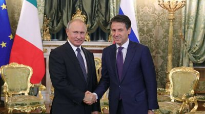 Путин обсудил с премьером Италии итоги
