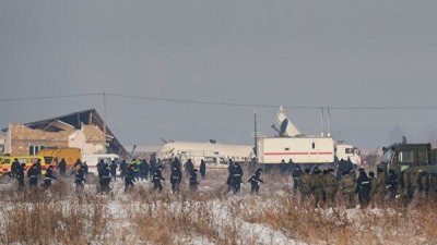 Туркмения выразила соболезнования в связи с авиакатастрофой в Алма-Ате