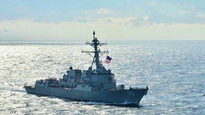 Минобороны обвинило эсминец США в сближении с российским кораблем