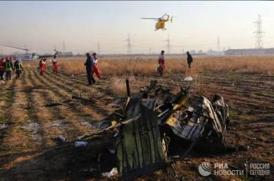 Роухани пообещал привлечь к ответственности виновных в авиакатастрофе