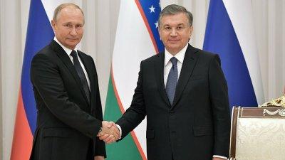 Путин провел телефонный разговор с президентом Узбекистана