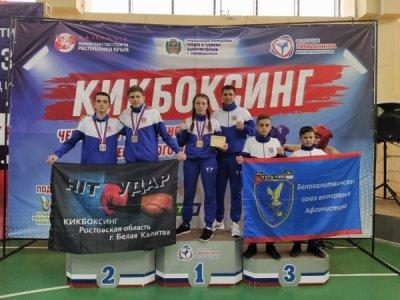 Белокалитвинская команда приняла участие в чемпионате и первенстве ЮФО по кикбоксингу