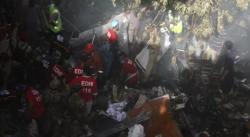 Выживший при крушении самолета в Пакистане рассказал о криках на борту