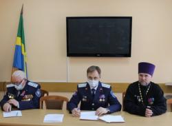 Прошло заседание расширенного Совета атаманов ЮКО «Усть-Белокалитвинский казачий юрт»