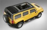 Hummer представит версию Hummer H3 с мягкой сдвижной крышей