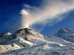 Вблизи вулкана Безымянный прошел пеплопад