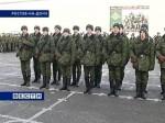 Батальон охраны и обслуживания штаба СКВО пополнился новобранцами