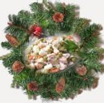 Мандарины, салат оливье и шампанское остаются главными символами российского Нового года