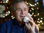Джордж Буш укрылся от торнадо в бронированном автомобиле