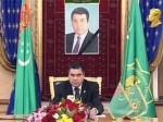 Исполняющий обязанности президента Туркмении отдал эфирное время конкурентам