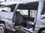 В Иркутской области микроавтобус столкнулся с легковым автомобилем: 11 пострадавших